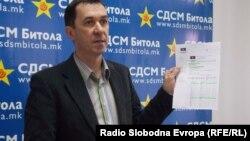 Васко Ковачевски, СДСМ - Битола.