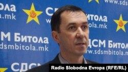 Виктор Ковачевски, претседател на СДСМ Битола.