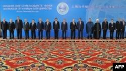 Средба на членките на шангајската организација за соработка.