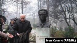 Otkrivanje biste Zije Dizdarevića, fotografije uz tekst: Ivan Katavić