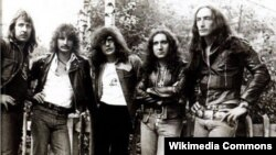 «Uriah Heep» у першай палове 1970-х.