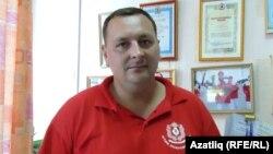 Волонтерлар җитәкчесе Сергей Шишкин