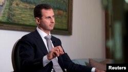 Presidenti sirian Bashar al-Assad