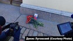 Акція біля будівлі Конституційного суду в Петербурзі, Росія, 15 березня 2020 року