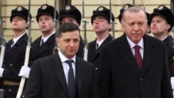 Turkish President Shouts Ukrainian Slogan That Rankles Russia