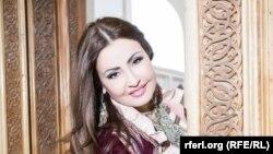 Узбекская певица Азиза Ниязметова.