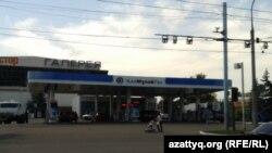 АЗС в Алматы.