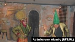 البصرة:مشهد من مسرحية لو نطق الحمار