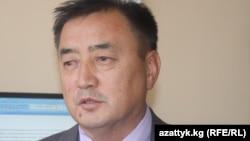 Жазуучу Талант Разаков. 2011-жылдын 20-апрели.
