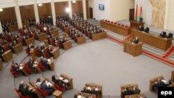 Беларусь парламентінің сессиясы (Көрнекі сурет).