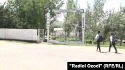 Даромадгоҳи мактабе, ки Саидакбар Мӯсоев дар онҷо мехонд