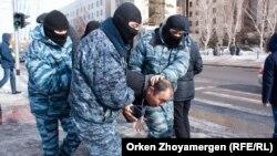 Задержания в Нур-Султане