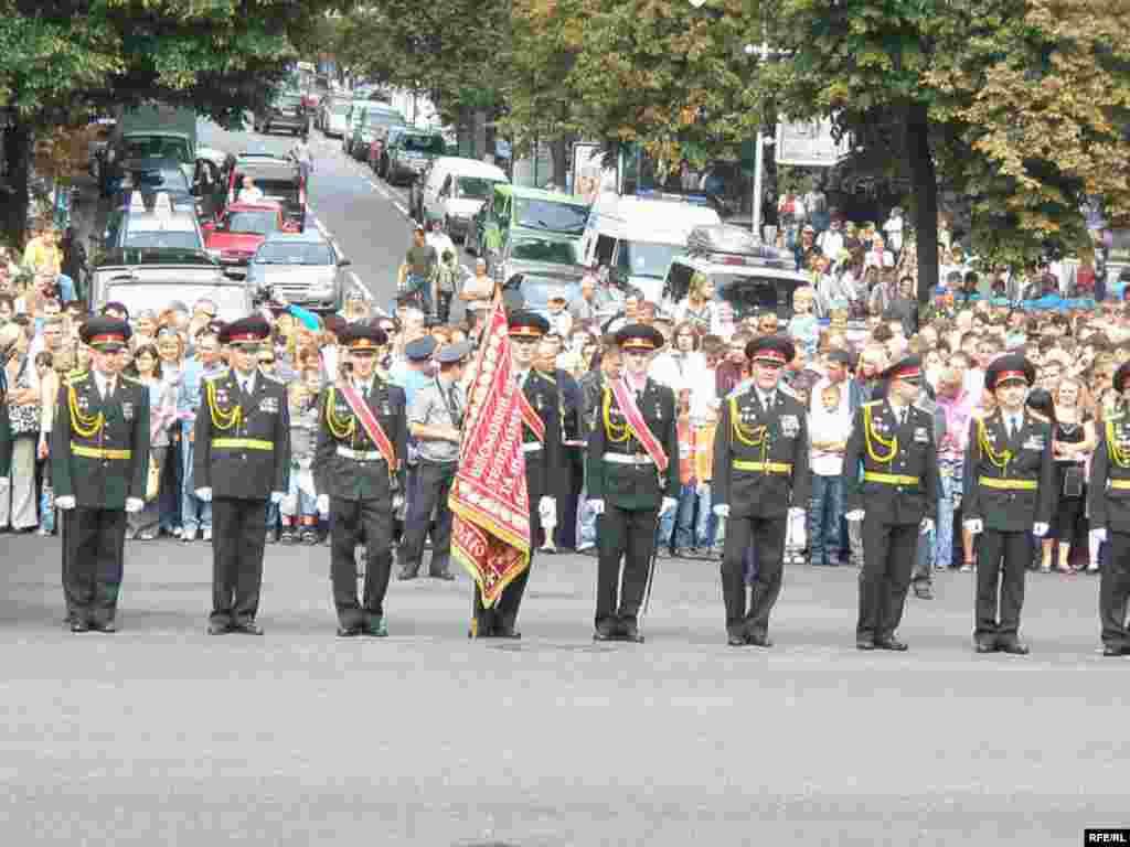Парад в Києві. День Незалежності 24 серпня 2009