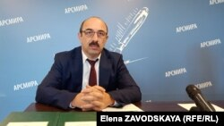 Руководитель Управления капитального строительства Игорь Миквабия провел сегодня пресс-конференцию