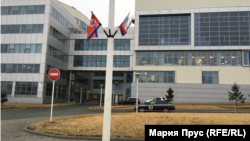 Флаги в кампусе ДВФУ