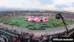 Центральный стадион города Вахдат