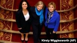 Три депутата парламента от Консервативной партии, присоединившиеся к Независимой группе, 20 февраля 2019 года.
