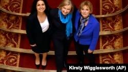 Три депутата парламента от Консервативной партии, присоединившиеся к «Независимой группе» 20 февраля 2019