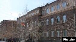 Կենտրոնական ընտրական հանձնաժողովի շենքը Երևանում