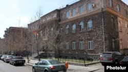 Armenia - The Central Election Commission building in Yerevan.