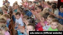 Казанның 184нче татар балалар бакчасында