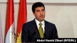 رئيس حكومة إقليم كردستان نجيرفان بارزاني