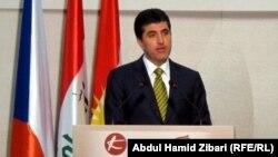رئيس وزراء كردستان نجيرفان برزاني