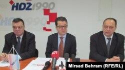 Konferencija za novinare HDZ-a 1990, Mostar, 7.12.2013.