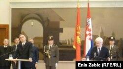 Filip Vujanović i Ivo Josipović, Zagreb, 10. listopad 2011.