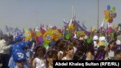 مشهد من الاحتفالا ت برأس السنة البابلية