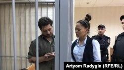 Обвиняемый Кирилл Жуков в суде