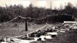 Corpuri dezgropate în Cimitirul săracilor în decembrie 1989 (Archive: W. Totok)