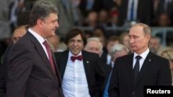 Попередня зустріч Порошенка і Путіна відбулася 6 червня у Франції