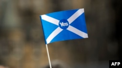 Simboli i votimit për pavarësinë e Skocisë nga Mbretëria e Bashkuar