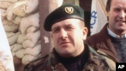 Retired General Atif Dudakovic (shown in 1994) became the Bosnian Army commander after the war and remains highly respected and popular.