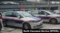 Автомобили полиции Австрии.