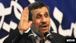 Former Iranian President Mahmud Ahmadinejad (file photo)