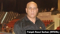 المصارع العراقي ثابث نعمان الأعظمي