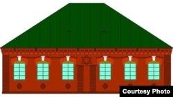 Праект рэстаўрацыі сынагогі, выкананы спэцыялістамі фонду «Крэўскі замак» (архітэктар А. Шулаеў, 2011 год)