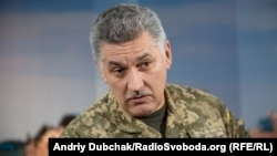Заступник командувача штабу Операції об'єднаних сил Богдан Бондар