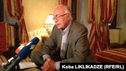 Спецпредставитель премьер-министра Грузии по вопросам РФ Зураб Абашидзе
