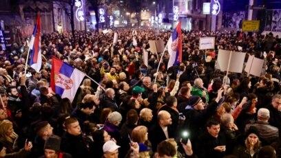 Protest 'Stop krvavim košuljama', Beograd, 22. decembar 2018.