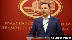 Министерот за внатрешни работи Оливер Спасовски
