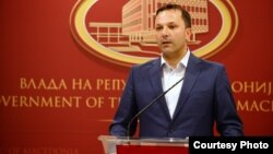 Министерот за внатрешни работи, Оливер Спасовски