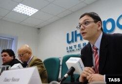 "Pavel Cikov la o conferință a Asociației ""Agora"""
