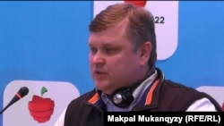 Андрей Крюков, Алматы-2022 комитетінің өкілі.