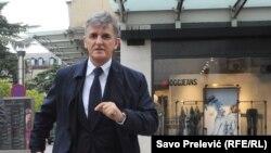 Svetozar Marović stiže na saslušanju u Tužilaštvo u aprilu 2014. godine