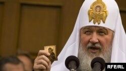 Патриарх Московский и Всея Руси Кирилл в Белоруссии.