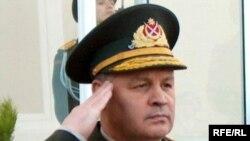 Azerbaijani Defense Minister Safar Abiyev, 2004