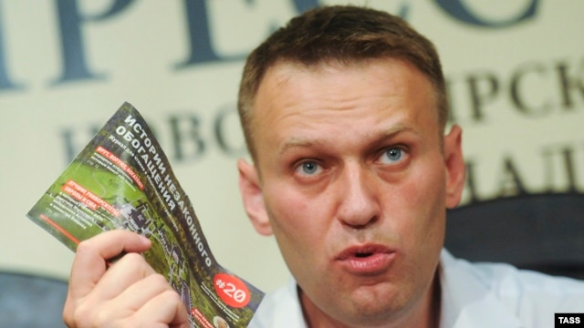 "Navalny famously dubbed the Kremlin-backed ruling political party the ""Party of Crooks and Thieves."""